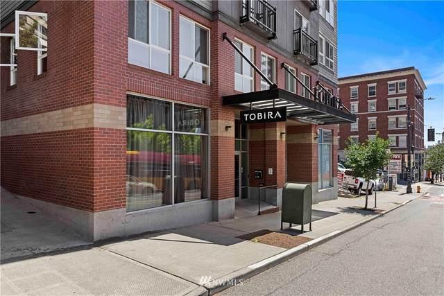 108 5th Avenue S #211, Seattle, WA 98104 (#1645708) :: Hauer Home Team