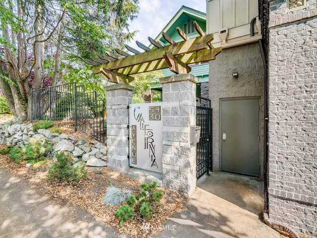 5430 California Avenue SW 4A, Seattle, WA 98136 (#1659639) :: Ben Kinney Real Estate Team