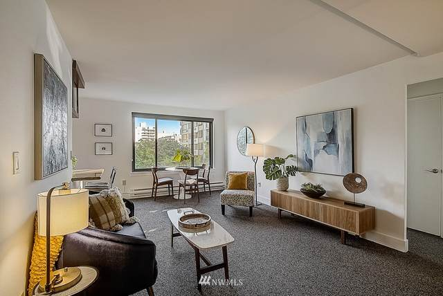 1105 Spring St #704, Seattle, WA 98104 (#1660277) :: Pacific Partners @ Greene Realty