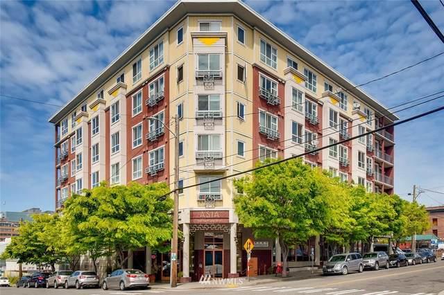 668 S Lane Street #602, Seattle, WA 98104 (#1661591) :: Ben Kinney Real Estate Team
