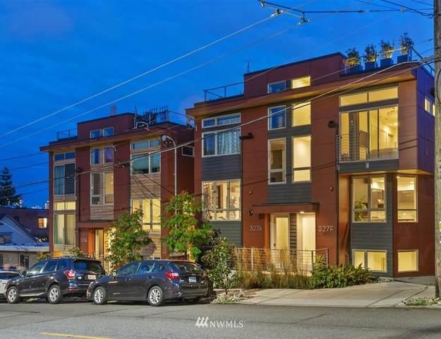 327 W Olympic Pl Unit F, Seattle, WA 98119 (#1668527) :: Ben Kinney Real Estate Team