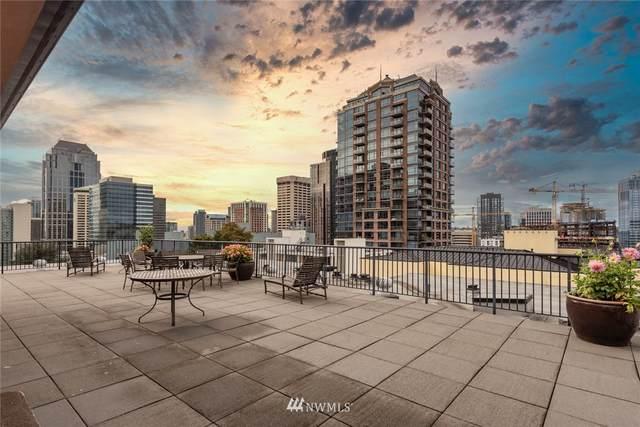 1323 Boren Avenue #405, Seattle, WA 98101 (#1669532) :: Hauer Home Team