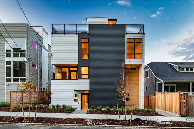 126 W Florentia Street D, Seattle, WA 98119 (#1676994) :: Ben Kinney Real Estate Team