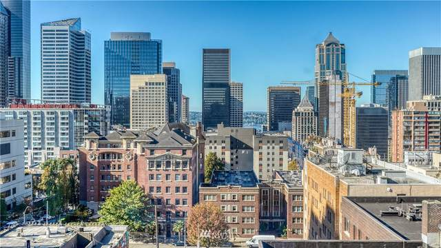 1105 Spring Street #1010, Seattle, WA 98104 (#1682943) :: Pickett Street Properties