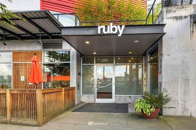 2960 Eastlake Avenue E #405, Seattle, WA 98102 (#1684298) :: Keller Williams Realty
