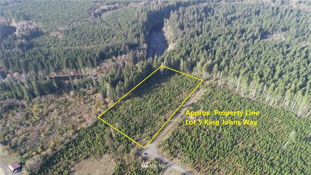 9999 Lot 5 King Johns Way, Forks, WA 98331 (#1690520) :: Priority One Realty Inc.