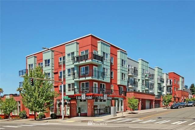 424 N 85th Street #214, Seattle, WA 98103 (#1691689) :: The Robinett Group