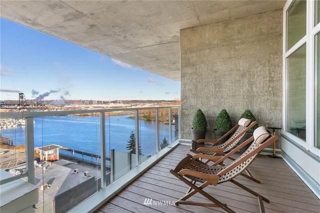 1515 Dock Street #908, Tacoma, WA 98402 (#1712770) :: Mike & Sandi Nelson Real Estate