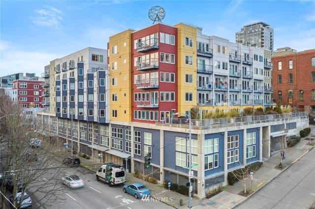 2440 Western Avenue #210, Seattle, WA 98121 (#1714601) :: Hauer Home Team