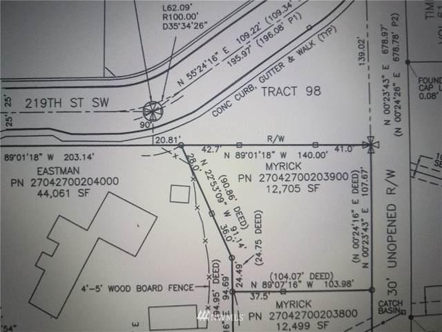 0 219th Street SW, Brier, WA 98036 (#1715512) :: The Original Penny Team