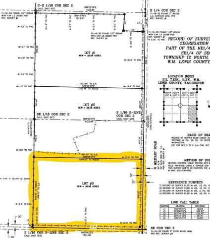 0 N Military Road, Napavine, WA 98565 (#1716275) :: Better Properties Real Estate
