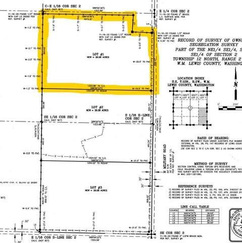 0 N Military Road, Napavine, WA 98565 (#1716722) :: Better Properties Real Estate