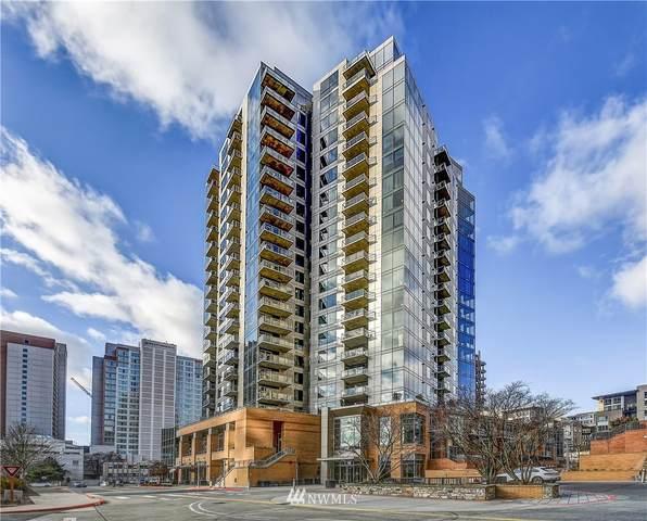 10610 NE 9th Place #807, Bellevue, WA 98004 (MLS #1718319) :: Brantley Christianson Real Estate