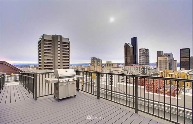 1105 Spring Street #210, Seattle, WA 98104 (#1718968) :: Ben Kinney Real Estate Team