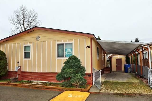 15410 SE 272nd Street #20, Kent, WA 98042 (#1722650) :: Costello Team