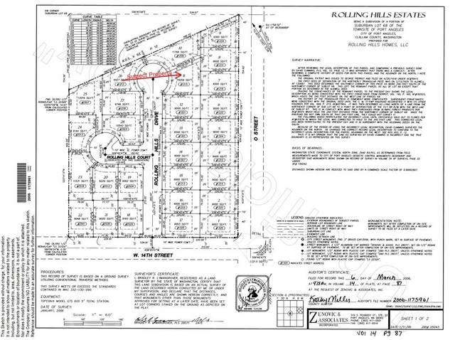 1215 Rolling Hills Drive, Port Angeles, WA 98363 (#1724010) :: McAuley Homes