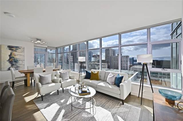 588 Bell Street 1006S, Seattle, WA 98121 (#1735119) :: The Robinett Group