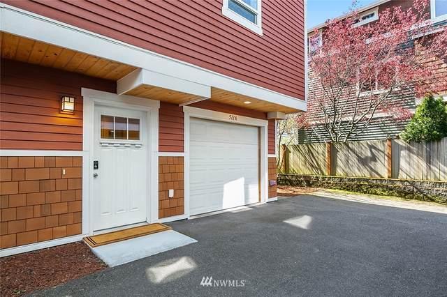 511 N 46th Street A, Seattle, WA 98103 (#1753109) :: Keller Williams Western Realty
