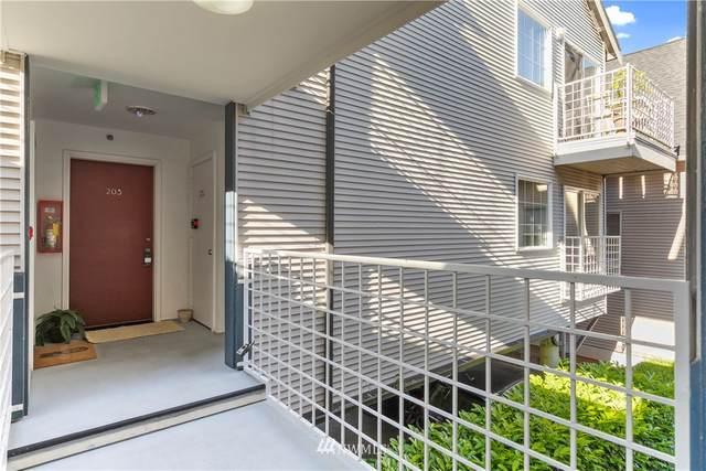 952 N 35th Street #203, Seattle, WA 98103 (#1771650) :: NextHome South Sound