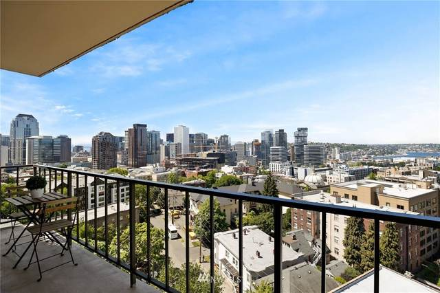 1300 University Street 10G, Seattle, WA 98101 (#1773752) :: Hauer Home Team