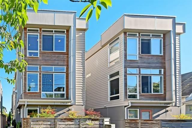 1741 NW 60th Street A, Seattle, WA 98107 (#1784494) :: Ben Kinney Real Estate Team