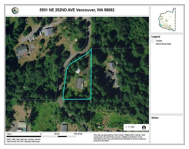 5501 NE 252nd Avenue, Vancouver, WA 98682 (#1785087) :: Ben Kinney Real Estate Team