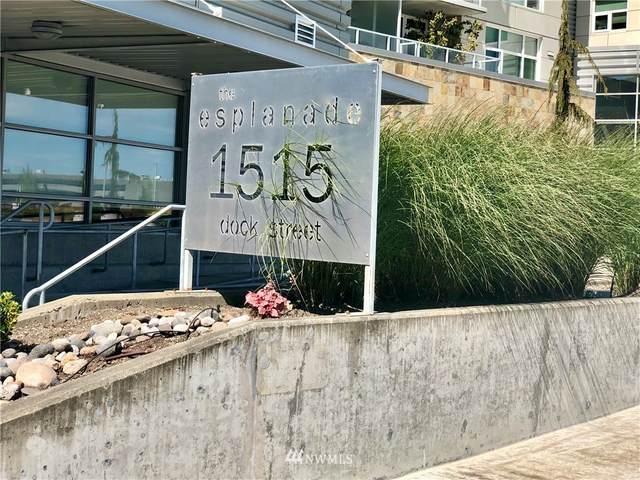 1515 Dock Street #905, Tacoma, WA 98402 (#1786764) :: Keller Williams Western Realty