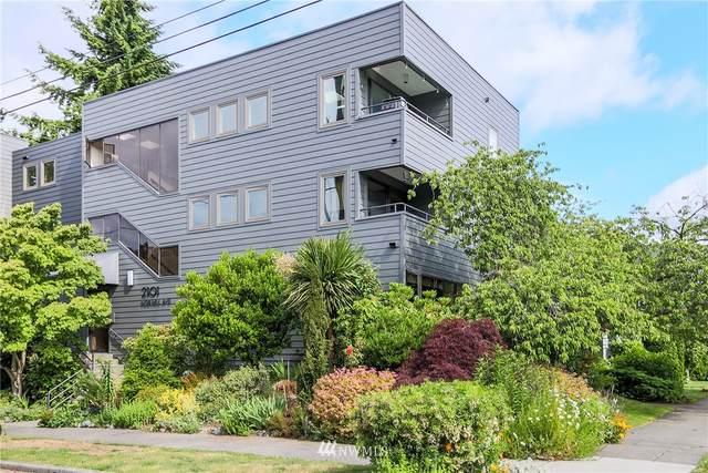 2101 Nob Hill Avenue N 3A, Seattle, WA 98109 (#1792993) :: Costello Team