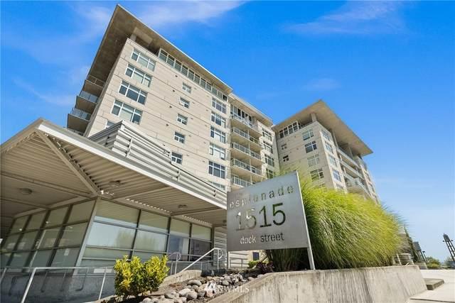 1515 Dock Street #708, Tacoma, WA 98402 (#1800142) :: Pacific Partners @ Greene Realty
