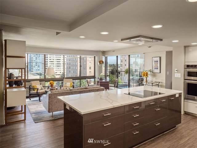 1120 Spring Street #1103, Seattle, WA 98104 (#1802577) :: Alchemy Real Estate