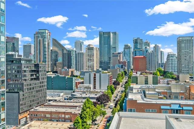 121 Vine Street #1506, Seattle, WA 98121 (#1809430) :: Front Street Realty