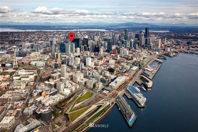 588 Bell Street 3307S, Seattle, WA 98121 (#1809436) :: NextHome South Sound