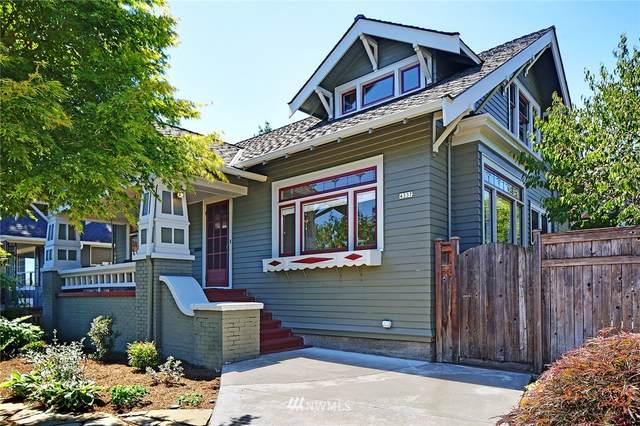 4337 Evanston Avenue N, Seattle, WA 98103 (#1810819) :: McAuley Homes