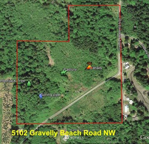 5102 Gravelly Beach Rd NW, Olympia, WA 98502 (#1824567) :: Neighborhood Real Estate Group