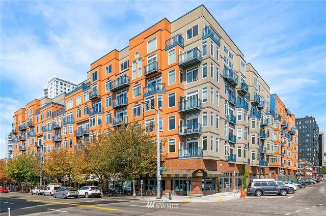 2414 1st Avenue #509, Seattle, WA 98121 (#1835532) :: The Snow Group