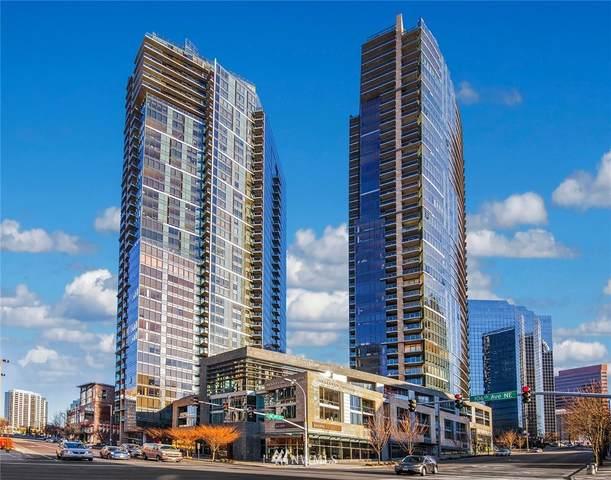 500 106th Avenue NE #1103, Bellevue, WA 98004 (#1836134) :: Ben Kinney Real Estate Team
