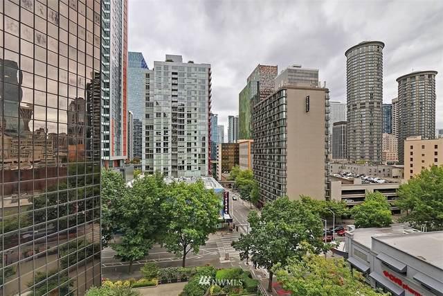 2100 3rd Avenue #805, Seattle, WA 98121 (#1843219) :: Home Realty, Inc