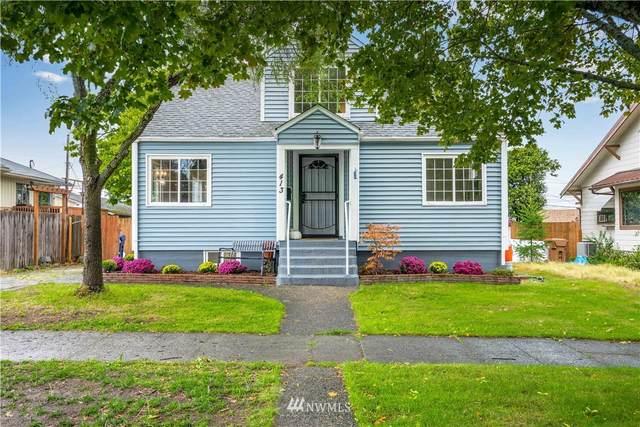 413 S 35th Street, Tacoma, WA 98418 (#1847644) :: Keller Williams Western Realty