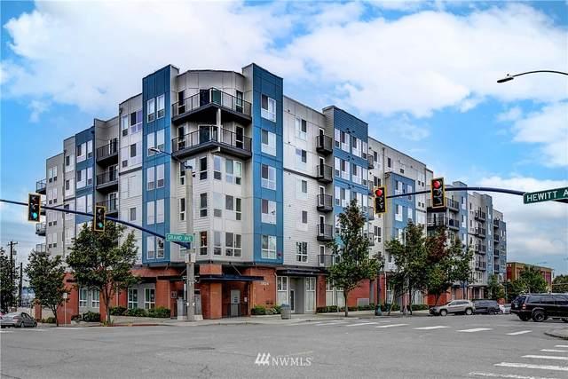 2824 Grand Avenue A312, Everett, WA 98201 (#1851052) :: McAuley Homes