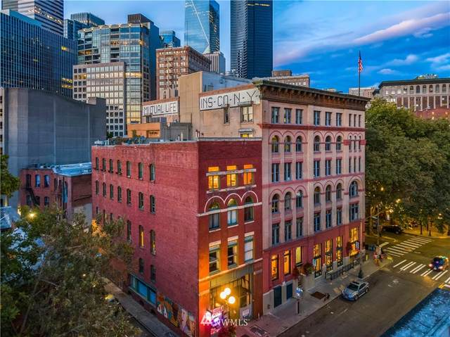 606 Post Avenue #401, Seattle, WA 98104 (#1853806) :: Lucas Pinto Real Estate Group