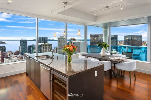 737 Olive Way #3800, Seattle, WA 98101 (#1856456) :: Ben Kinney Real Estate Team