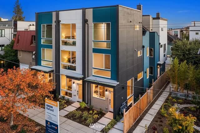2439 C NW 61st Street, Seattle, WA 98107 (#1857522) :: Icon Real Estate Group