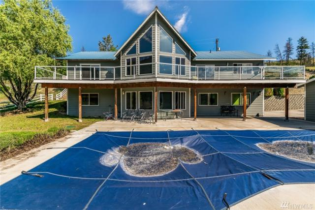 425 Antoine Creek Rd, Chelan, WA 98816 (#1242282) :: Homes on the Sound