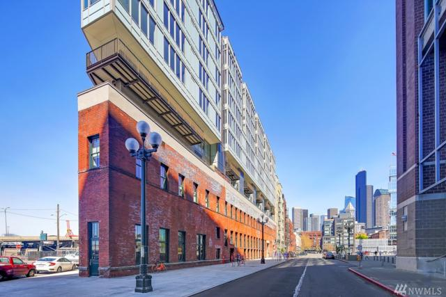 590 1st Ave S #716, Seattle, WA 98104 (#1259841) :: The Snow Group at Keller Williams Downtown Seattle
