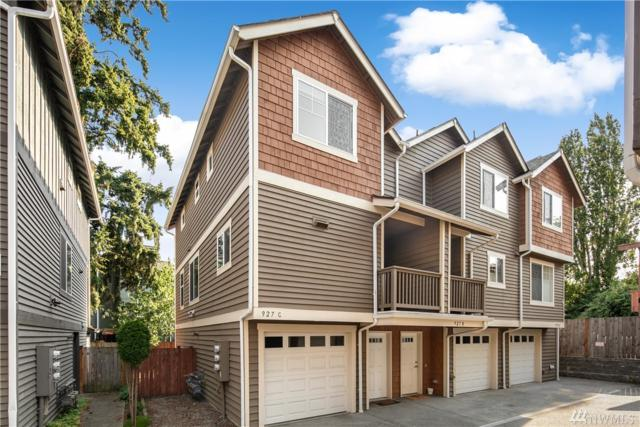 927 N 97th St C, Seattle, WA 98103 (#1341493) :: The Vija Group - Keller Williams Realty