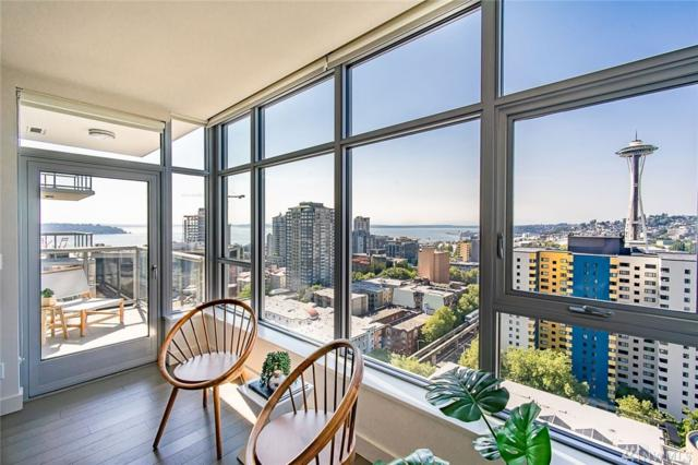583 Battery St #2005, Seattle, WA 98121 (#1347282) :: Homes on the Sound