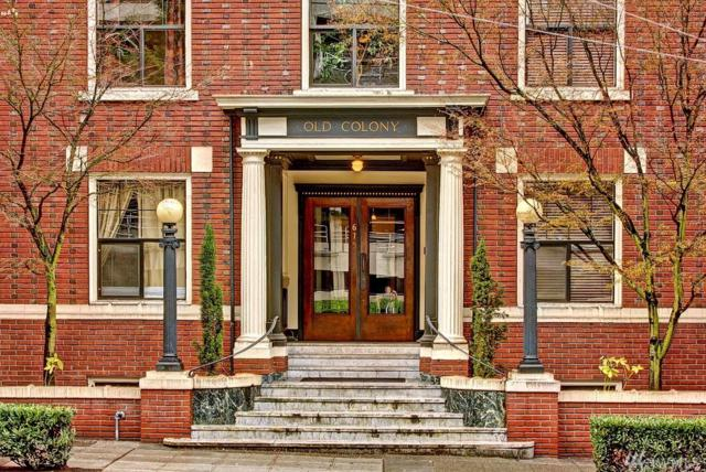 615 Boren Ave #16, Seattle, WA 98104 (#1391664) :: Kimberly Gartland Group