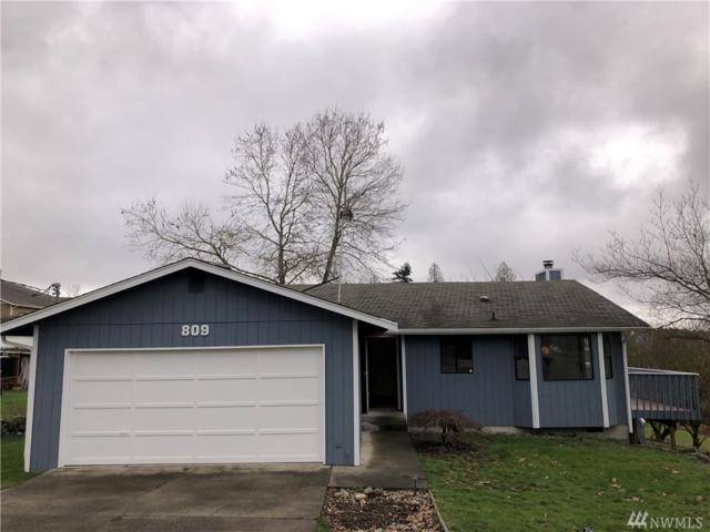 809 18th Ave, Milton, WA 98354 (#1407057) :: Homes on the Sound