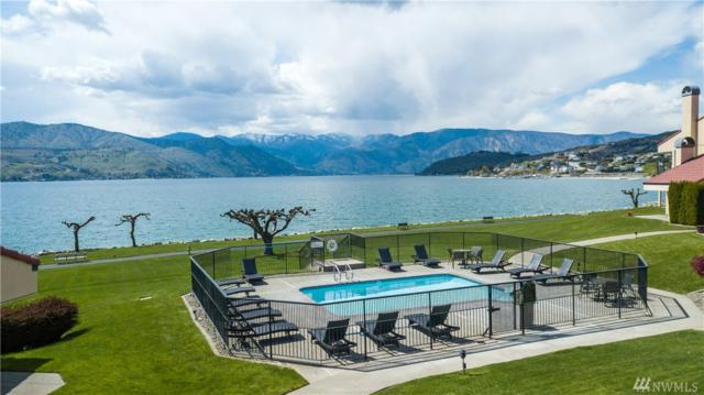 100 Lake Chelan Shores Dr 4-1, Chelan, WA 98816 (#1439193) :: Keller Williams Western Realty