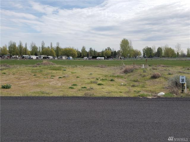6549 SE Hwy 262   Lot 31, Othello, WA 99344 (#1459985) :: Homes on the Sound